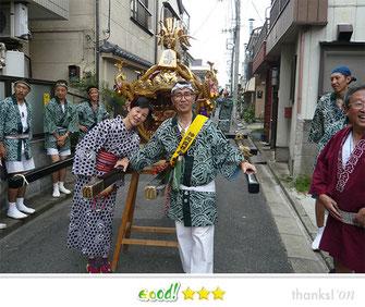 亀田会さん: 梅田稲荷神社例大祭 亀田睦