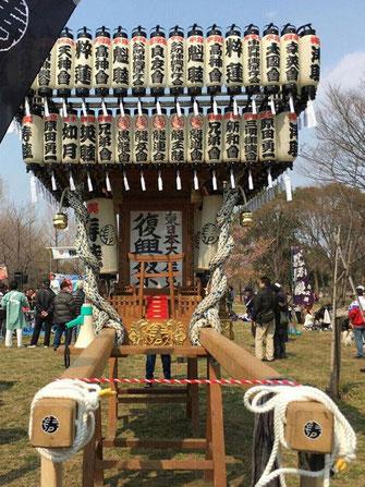日比谷大江戸まつり 2019, お祭りパレード, 参加出場神輿, 東京涛睦