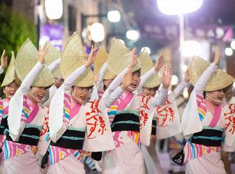日比谷大江戸まつり 2019, ステージプログラム, 阿波踊り, 参加出演者, 東京えびす連
