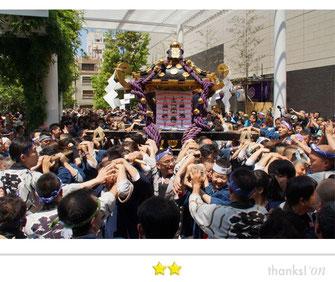 あつしさん: 三社祭2015