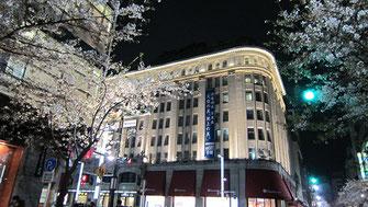tyanmaruさん:日本橋高島屋の夜桜