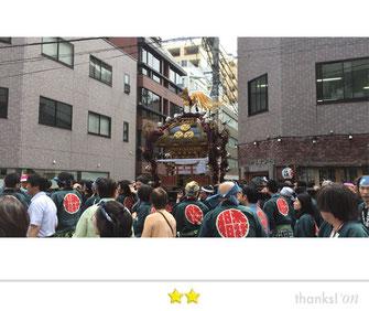 大鐡さん:椙森神社例大祭