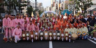 """Awa-Odori Dance, Tokyo Koenji """"Shinobu-ren"""""""