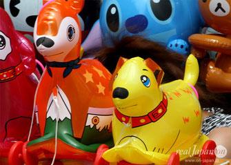 Plastic and vinyl toys, Matsuri Stalls, hibiya oedo matsuri