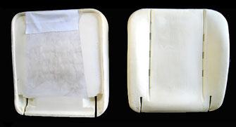 Fiat Talento, Fahrersitz, schaumsitz, Sitzkern