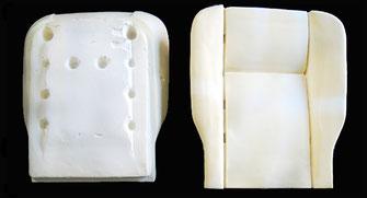 Fiat 124 Sitz, Fahrersitz