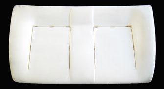 Daily Iveco Doppelsitzbank, Doppelsitz, Zweier sitz hinten