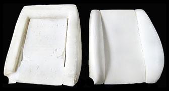 Fiat Scudo Lehne, Rückensitz