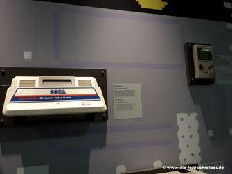 Spielekonsole von Sega...