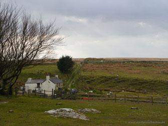 ... Peat Cot Cottage mitten im Moor