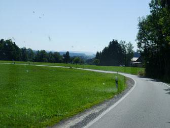 Landschaftlich sehr schöne Strecke