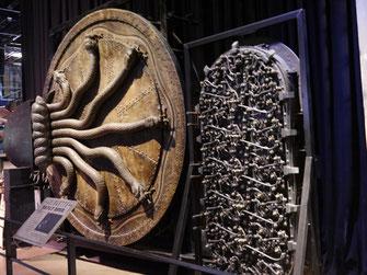 Tür zur Kammer des Schreckens und Gringotts Tür