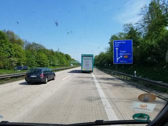 Ausfahrt Soest naht