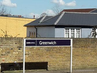 Ankunft in Greenwich