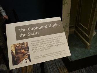 Beschreibung von Harrys Schlafraum unter der Treppe