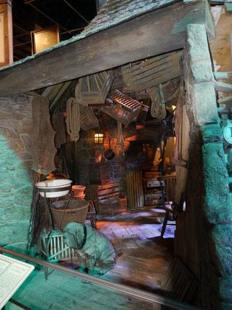 Hagrids Hütte mit Hund Fang