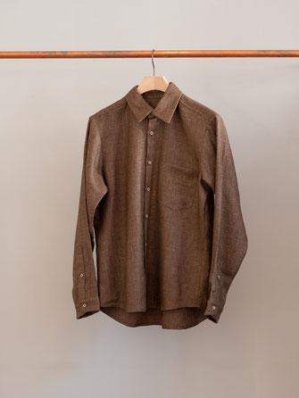 Frank Leder . Kapselkollektion 01 . Herrenhemd 01 . €300