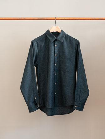 Frank Leder . Kapselkollektion 01 . Herrenhemd 03 . €300