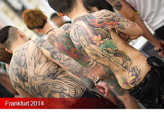Tattoo Convention Frankfurt 2014