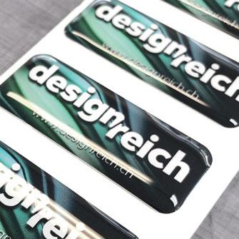 Werbekleber, PVC, Aufkleber, Sticker, Folienkleber, Siebdruck