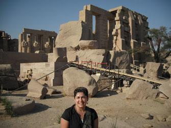 Ramesseum; Egipto; Ramsés II; Naty Sánchez; egiptología; arquitectura;
