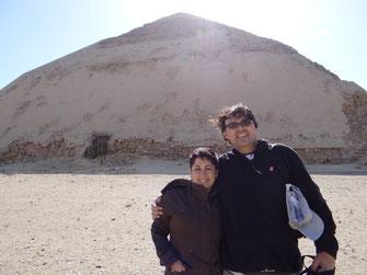 Snefru; pirámides; Dashur; Egipto; Naty Sánchez Ortega; Academia Idearte;