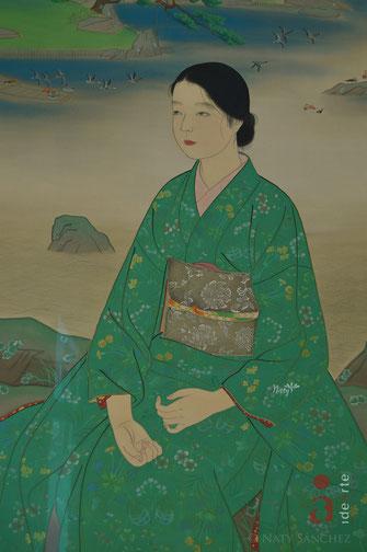 Matsuoka Eikyu; mujer; Japón; Academia Humanista Idearte; Naty Sánchez Ortega;