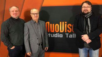 Mathias Tretschog und Dr. Ali Al-Zakami zu Gast bei Norbert Fleischer von NuoVisoTV