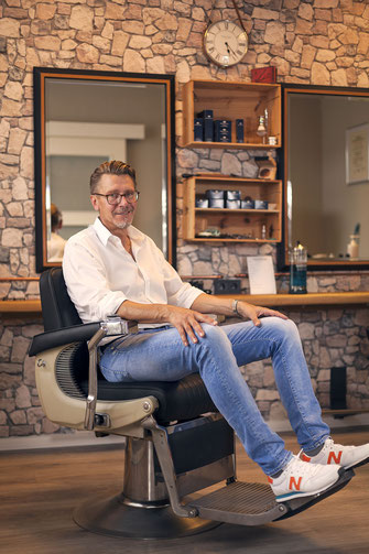 Friseurmeister Rainer Winkelhausen