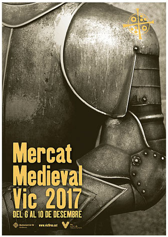 Mercat Medieval de Vic 2015 Programa y Cartel