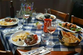 Saarbrücken Restaurant, To Steki, Restaurant, Speisen, wein, griechisches Essen, Taverne To Steki, Saarland Restaurant, griechisches Restaurant