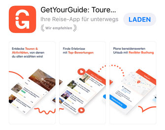 App GetYourGuide