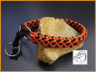 Paracord Hundehalsband, geflochtenes Hundhalsband