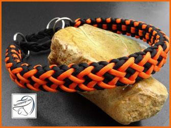 Paracord Hundehalsband, Flechthalsband