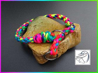 Paracordhundehalsband, Zugstopp Halsband