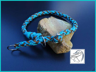 Hundehalsband mit Zugstopp, Halsband aus Paracord