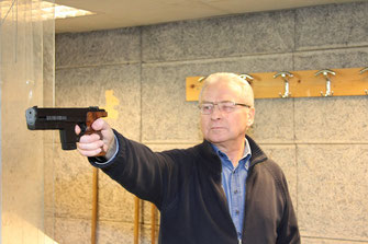 tir sportif Croix gros calibre 25 m