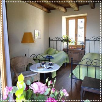 Gästezimmer im Casa Bureglo