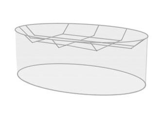 Ovale Lampenschirme in vielen Größen