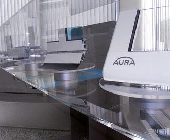 Aura Firmenzentrale in Feistritz im Rosental.