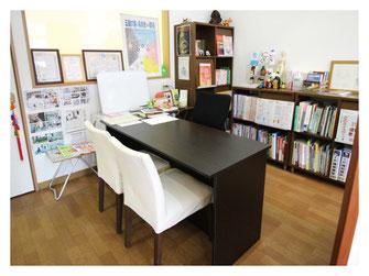 新潟市の漢方薬専門店「西山薬局」の相談ブース