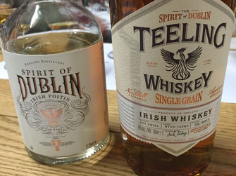 Teeling Irish Poitin und Single Grain