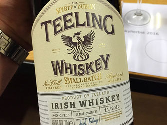 Teeling Irish Whiskey Rum Casks