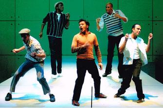 "Bruno als Chuck, Lied ""Where are you tonight"", Wiener Kammeroper"