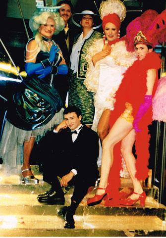 Bruno als Jean-Michel, die Cagelles, European Tour