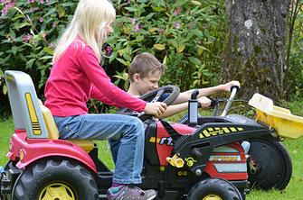 Bauernhof Ferien Oberaudorf mir Kindern