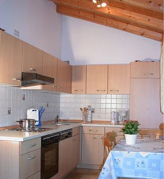 Wohnung Kaiserblick/ Küche