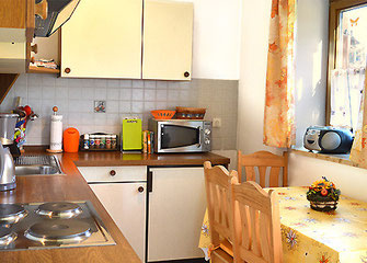 Ferienwohnungen in Oberaudorf im Pechlerhof / Küche