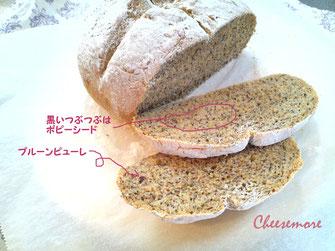 プルーンピューレのパン