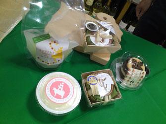 三良坂フロマージュのチーズたち